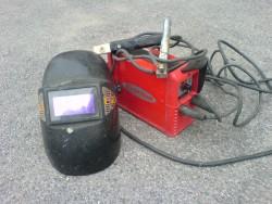Svářecí souprava s elektrodami