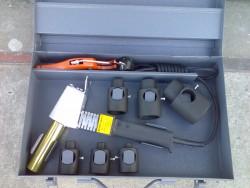 Svářečka na plast + nůžky + nástavec pr. 16, 20, 25, 32, 42, 50