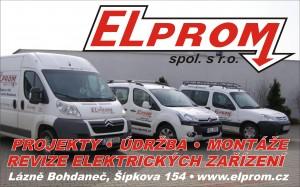 Elprom - banner - návrh